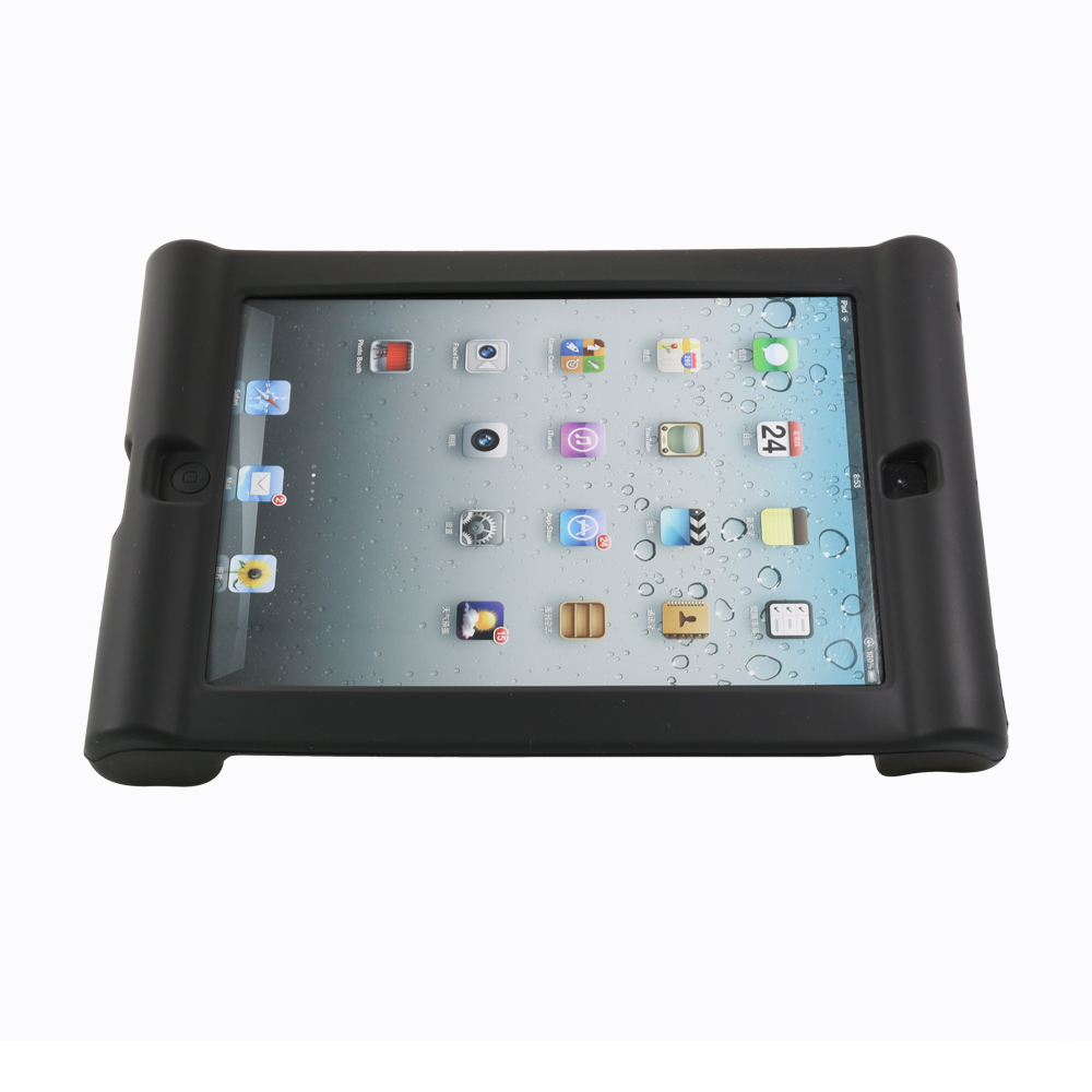 Silicone Protective Case for iPad Tablet