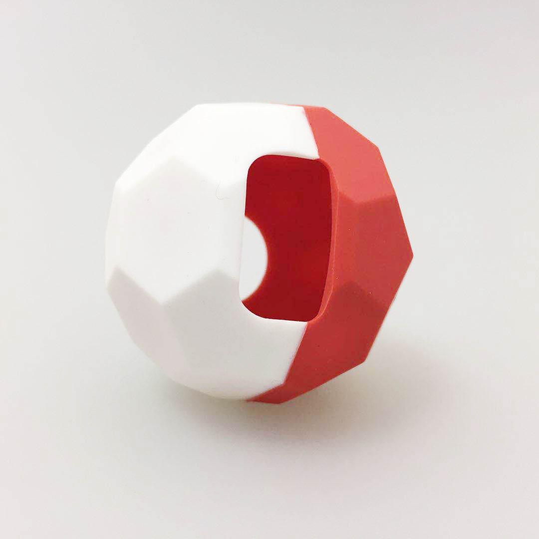 Football Design Silicone Case for Poke Ball Plus